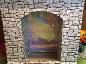 Создаём декоративный камин из картона. Ярмарка Мастеров - ручная работа, handmade.