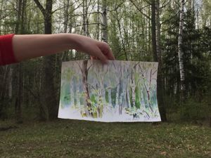 Скажите, Киса! Как художник,художнику, вы рисовать умеете?. Ярмарка Мастеров - ручная работа, handmade.