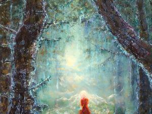 Ненаписанная картина или  «Невеста Лесу». Ярмарка Мастеров - ручная работа, handmade.