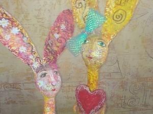 Зайчишка-трусишка - мастер-класс папье-маше Татьяны Молодой - урок № 1. Ярмарка Мастеров - ручная работа, handmade.