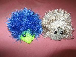 Вяжем милого ежика — игрушку-антистресс. Ярмарка Мастеров - ручная работа, handmade.