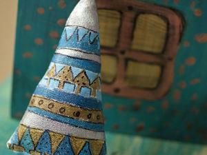 Шьем симпатичные ёлочки-подвески. Ярмарка Мастеров - ручная работа, handmade.