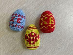 Пасхальное яйцо в технике макраме. Ярмарка Мастеров - ручная работа, handmade.