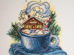 «Зима в чашке». Ярмарка Мастеров - ручная работа, handmade.