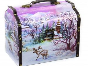 Аукцион Новогодний сундучок. Ярмарка Мастеров - ручная работа, handmade.