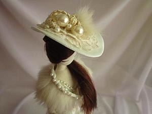 Шляпки для кукол своими руками. Ярмарка Мастеров - ручная работа, handmade.