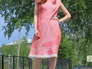 Аукцион на ТРИ  валяные платья!!! Сегодня!. Ярмарка Мастеров - ручная работа, handmade.