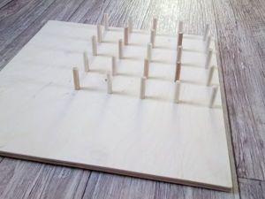 Геоборд своими руками — это очень просто!. Ярмарка Мастеров - ручная работа, handmade.