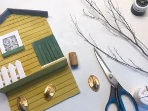 DIY Ключница своими руками из картона. Ярмарка Мастеров - ручная работа, handmade.