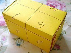 Мастерим коробочку а-ля Почта России. Ярмарка Мастеров - ручная работа, handmade.