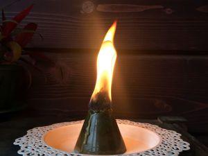 Безфитильные свечи. Ярмарка Мастеров - ручная работа, handmade.