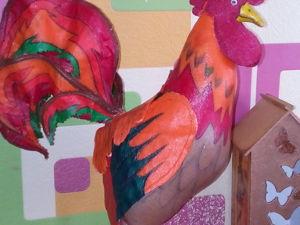 Огненный петух Петр Петрович своими руками. Ярмарка Мастеров - ручная работа, handmade.