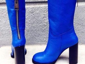 Скидка на сапоги и ботинки -15% !!!. Ярмарка Мастеров - ручная работа, handmade.