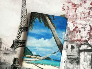 Блокнот  «Остров». Ярмарка Мастеров - ручная работа, handmade.