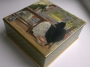 How to Decorate a Miniature Lacquered Box for Storing Sachets. Livemaster - handmade