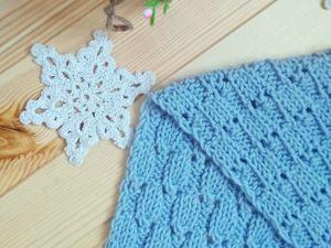 Как связать шарф-снуд. Ярмарка Мастеров - ручная работа, handmade.