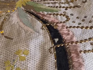 Wedding Embroidered Scarf from Hermitage Collection. Livemaster - handmade