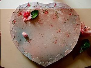Подарочная коробочка «Сердечко» своими руками. Ярмарка Мастеров - ручная работа, handmade.