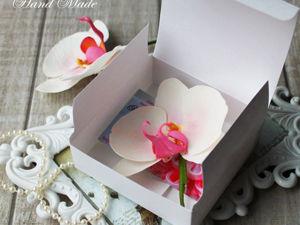Делаем коробочку для упаковывания handmade работ. Универсальная формула для любого размера. Ярмарка Мастеров - ручная работа, handmade.