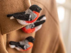 Как ухаживать за брошками из шерсти. Ярмарка Мастеров - ручная работа, handmade.