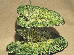 Tutorial on Making Original Leaves Dishes. Livemaster - handmade