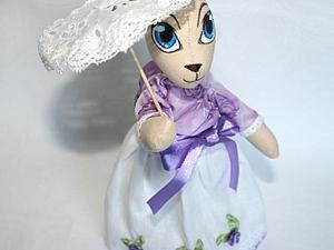 Sewing a Miniature Umbrella for Your Doll. Livemaster - handmade