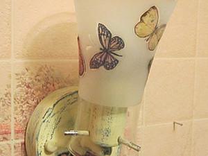 """Дачный светильник """"Полет бабочек"""". Ярмарка Мастеров - ручная работа, handmade."""
