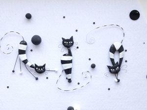 Коты -новая цена — 25%. Ярмарка Мастеров - ручная работа, handmade.