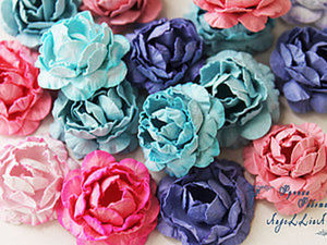 DIY Guide on Making Paper Flowers. Livemaster - handmade