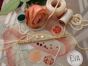 Инструменты и материалы для люневильской вышивки для начинающих. Ярмарка Мастеров - ручная работа, handmade.