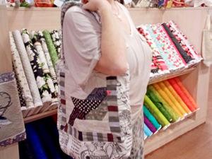 Создаём сумку-шоппер формата А3. Ярмарка Мастеров - ручная работа, handmade.