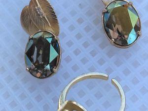 ЗАКРЫТ Аукцион на украшения с кристаллами Сваровски. Ярмарка Мастеров - ручная работа, handmade.