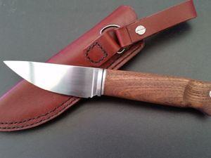 Шкурник .Тест ножа из стали К110. Ярмарка Мастеров - ручная работа, handmade.