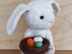 Шьем пасхального тедди-кролика. Ярмарка Мастеров - ручная работа, handmade.