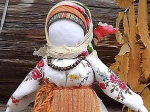 Folk Seamless Ryabinka Doll DIY. Livemaster - handmade