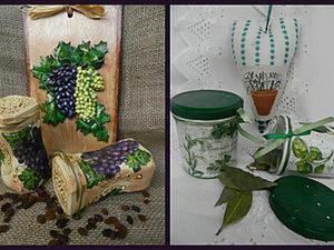 «Когда б вы знали из какого сора, или Презенты впрок»: декорируем баночки. Ярмарка Мастеров - ручная работа, handmade.