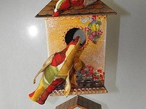 Мастер-класс: декоративный скворечник «Дом — полная чаша!». Ярмарка Мастеров - ручная работа, handmade.