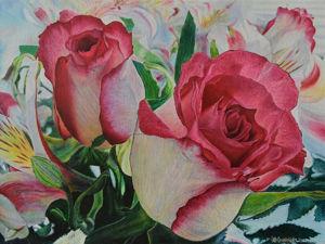 «Розы для любимой»  на Главной!. Ярмарка Мастеров - ручная работа, handmade.