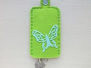 Шьём женскую карманную ключницу из фетра. Ярмарка Мастеров - ручная работа, handmade.
