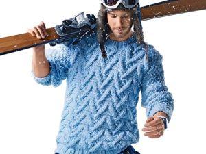 Вязаная мода для мужчин: а будут ли носить?. Ярмарка Мастеров - ручная работа, handmade.