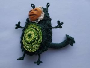 Монстр Авокадо. Ярмарка Мастеров - ручная работа, handmade.
