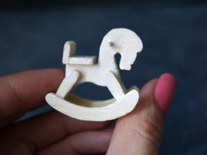 Видео мастер-класс: делаем деревянную лошадку-качалку в миниатюре. Ярмарка Мастеров - ручная работа, handmade.