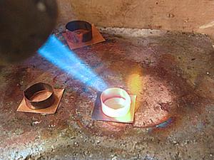 """Изготовление ожерелья """"Осень"""". Часть 2: пайка. Ярмарка Мастеров - ручная работа, handmade."""