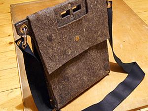 Изготовление сумки из войлока. Ярмарка Мастеров - ручная работа, handmade.