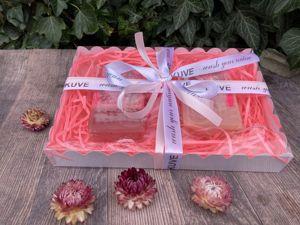 Подарочный набор с натуральным мылом ручной работы с нуля. Ярмарка Мастеров - ручная работа, handmade.
