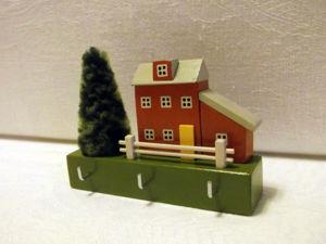 Как сделать уютную настенную ключницу в виде домика. Ярмарка Мастеров - ручная работа, handmade.