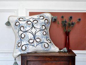 Подушки с вышивкой от Atelier Wilson (Франция). Ярмарка Мастеров - ручная работа, handmade.