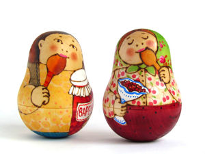 История неваляшки. Ярмарка Мастеров - ручная работа, handmade.