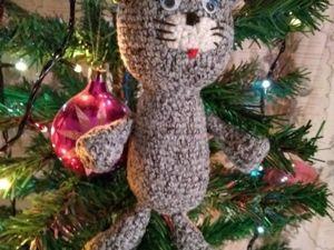 Последний котик уходящего года. )). Ярмарка Мастеров - ручная работа, handmade.
