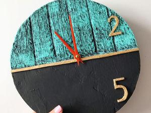 DIY Самодельные часы / Поделка из картона. Ярмарка Мастеров - ручная работа, handmade.